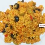 Рис в оливками в мультиварке скороварке
