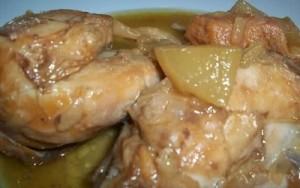 цыплят с яблоками в скороварке
