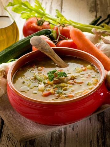 овощной суп за пять минут в мультиварке скороварке