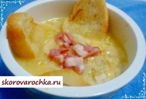 Луковый суп в мультиварке скороварке