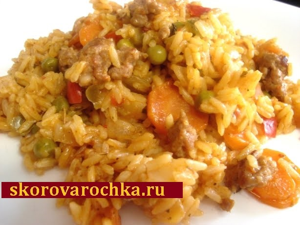 рецепт приготовления риса в скороварке