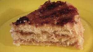 Яблочный насыпной пирог в мультиварке скороварке