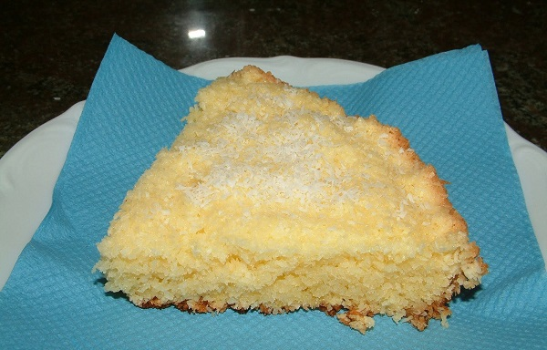 Кокосовый бисквит в мультиварке скороварке