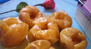 Печеные яблоки в мультиварке скороварке