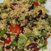 Мексиканский салат с пшеном