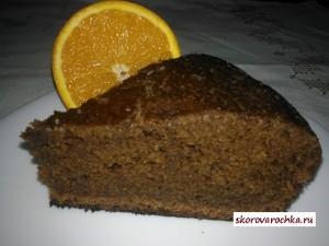 Шоколадно-апельсиновый бисквит