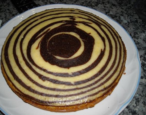 торт зебра в мультиварке-скороварке мулинекс кук рецепты с фото