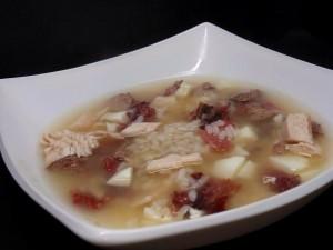куриный суп в скороварке
